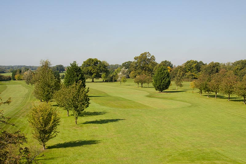 The Chartridge Park Golf Course - The 2nd